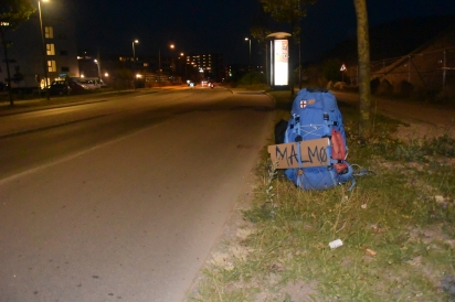 Hitchhiking to Sweden